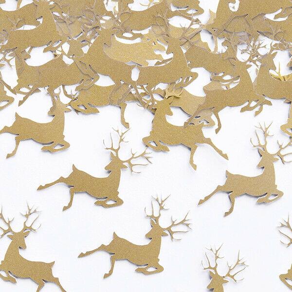 karácsonyi konfetti (20 db/cs) - rénszarvas