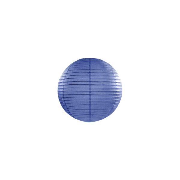 lampion gömb 20 cm – királykék