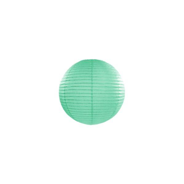 lampion gömb 20 cm – menta