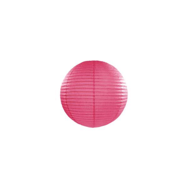 lampion gömb 20 cm - pink
