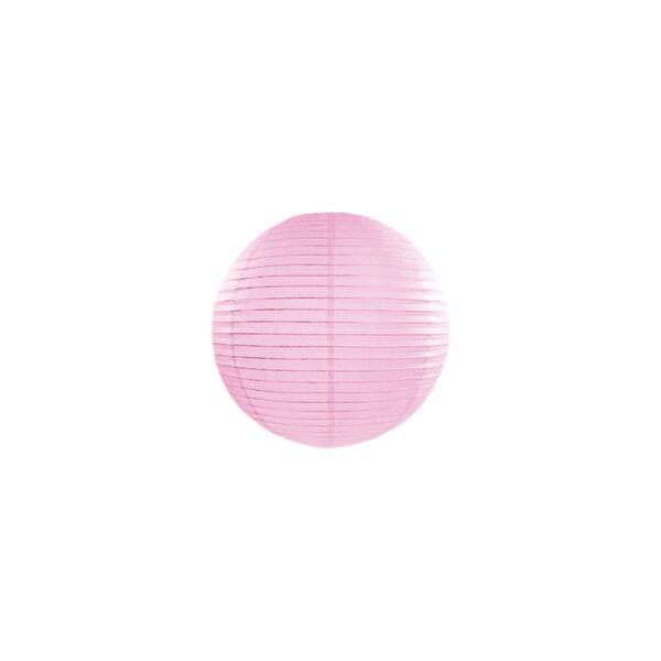 lampion gömb 20 cm - rózsaszín