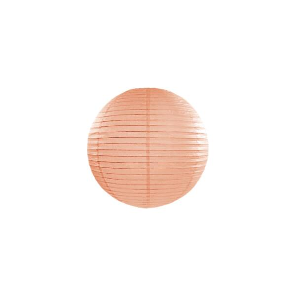 lampion gömb 25 cm - barack