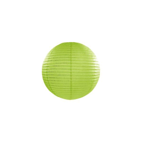 lampion gömb 25 cm – fűzöld