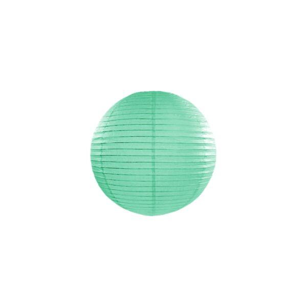 lampion gömb 25 cm - menta