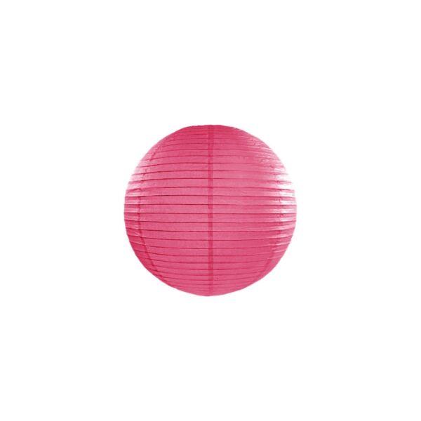lampion gömb 25 cm - pink