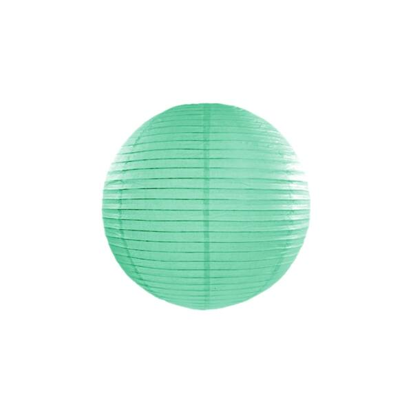 lampion gömb 35 cm - menta