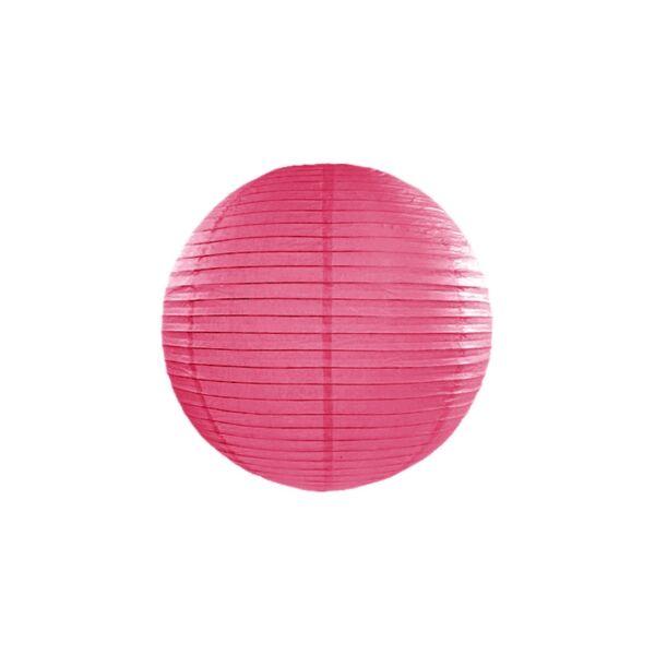lampion gömb 35 cm - pink