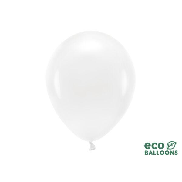 pasztell lufi 30 cm – fehér