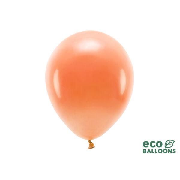pasztell lufi 30 cm - narancs