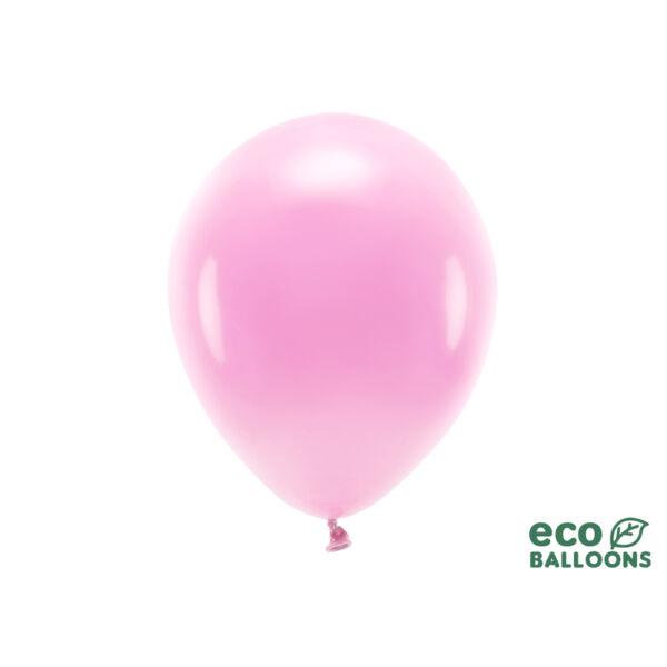 pasztell lufi 30 cm - pink