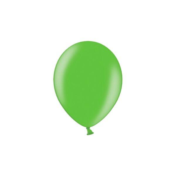 metál lufi 25 cm - zöld