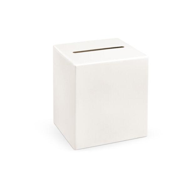 nászajándék gyűjtő doboz - krém