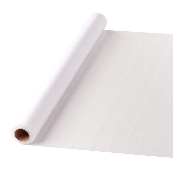 47 cm széles organza futó (10 m) – fehér