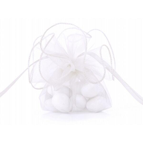 organza tasak 26 cm (20 db/cs) - fehér