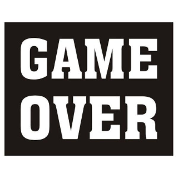 esküvői cipőmatrica (2 db/cs) – Game over