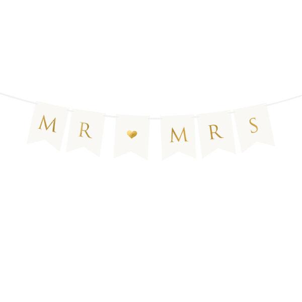 Mr és Mrs füzér - fehér