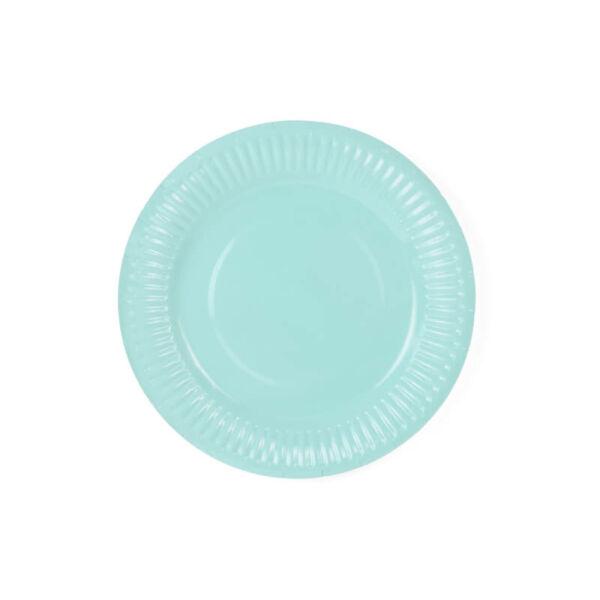 papír tányér (6 db/cs) – menta
