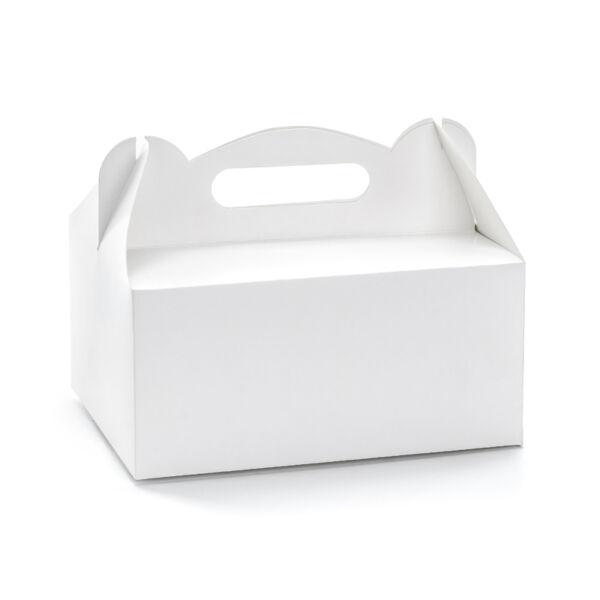 sütis doboz (10 db/cs) - fehér