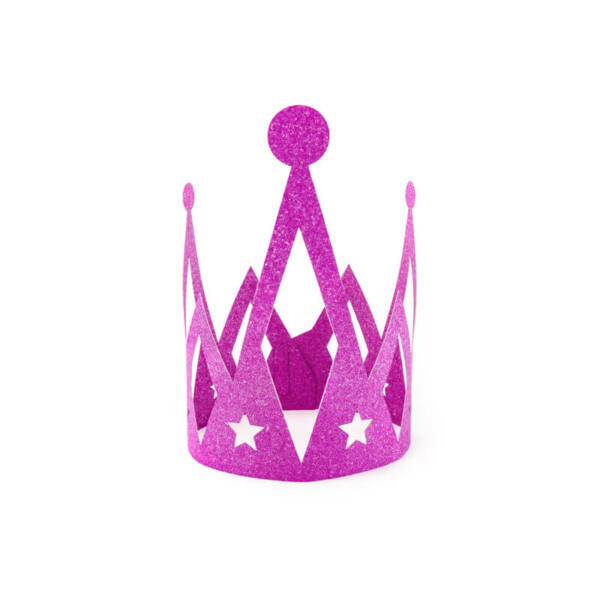 hercegnő korona - pink