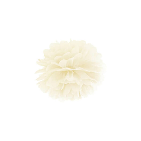 pompom 25 cm – krém