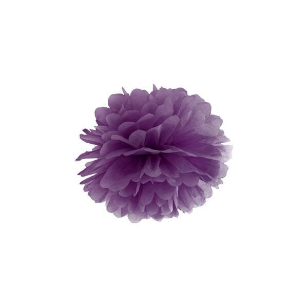 pompom 25 cm - sötétlila