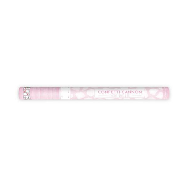 konfetti ágyú rózsaszirmokkal (60 cm) - fehér