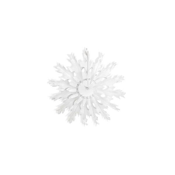 hópihe rozetta 25 cm – fehér