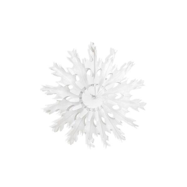 hópihe rozetta 37 cm - fehér