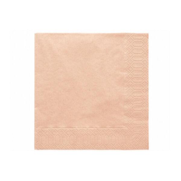 szalvéta 33x33 cm 3 rétegű (20 db/cs) - barack