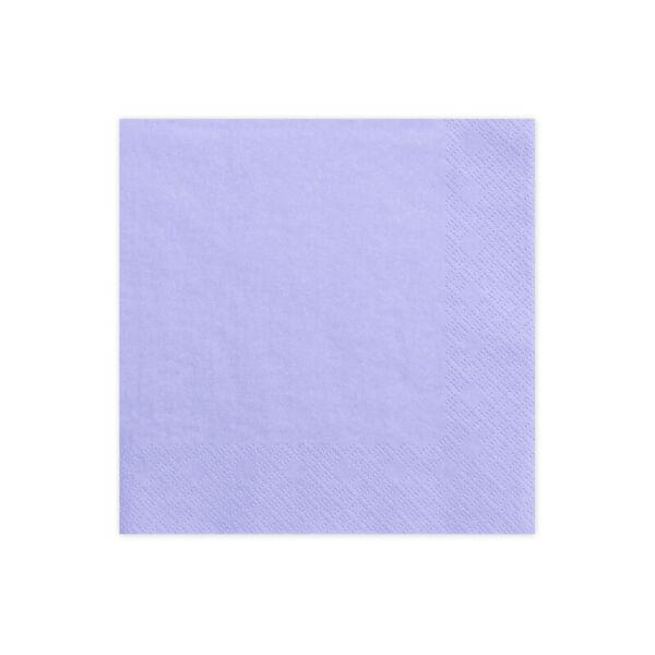 szalvéta 33x33 cm 3 rétegű (20 db/cs) - lila