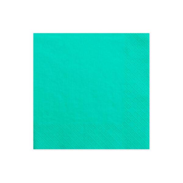 szalvéta 33x33 cm 3 rétegű (20 db/cs) – sötét menta