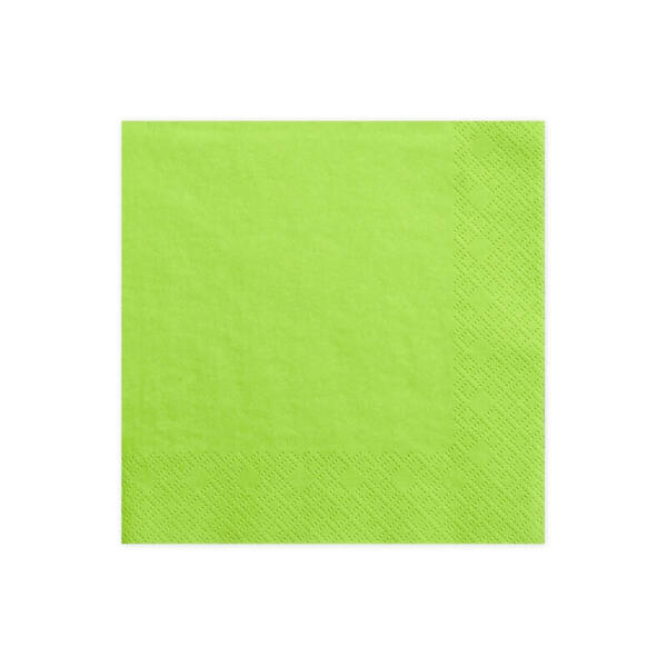szalvéta 33x33 cm 3 rétegű (20 db/cs) – zöld