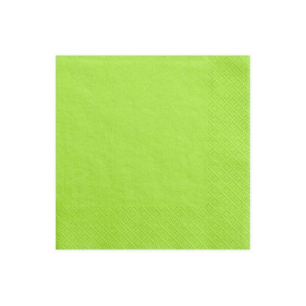 szalvéta 33x33 cm 3 rétegű (20 db/cs) - zöld