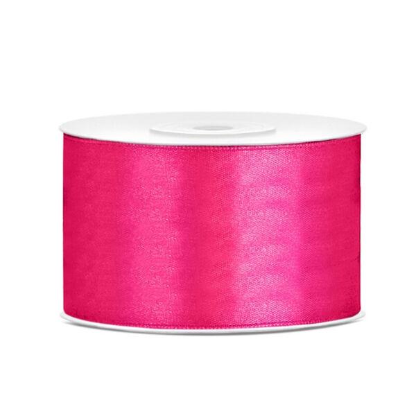 38 mm széles szatén szalag (25 m) - pink